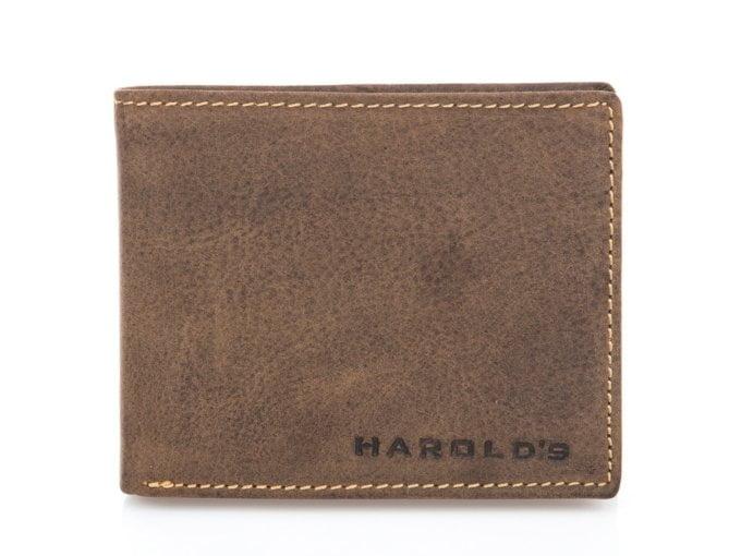 Duży poziomy portfel męski old-look