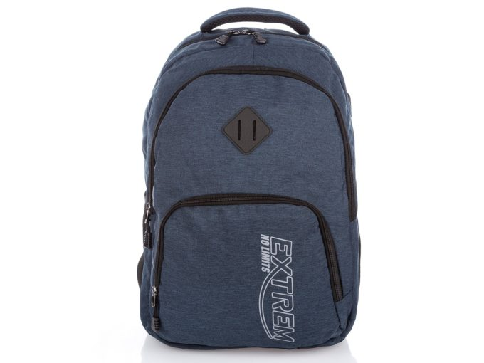 Niebieski plecak Extrem z USB