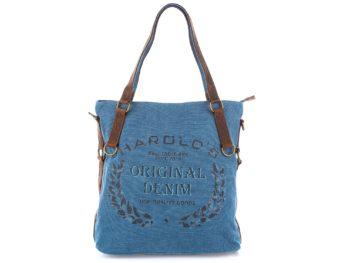 Niebieska torba do ręki Harold's