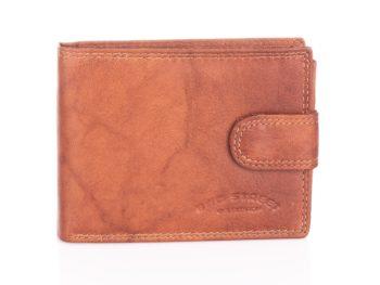 Jasno brązowy portfel męski Bag Street - skórzany