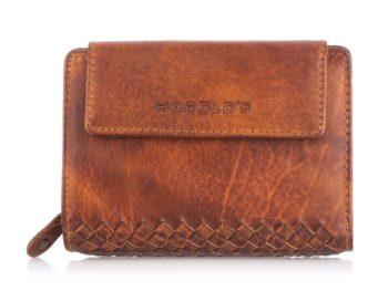Brązowy portfel skórzany (zakopiański)