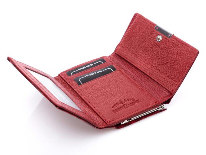 Znaczek RFID Safe w środku portfela damskiego Jennifer Jones
