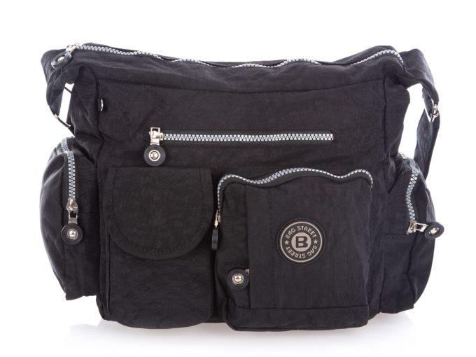 Turystyczna torba czarna Bag Street