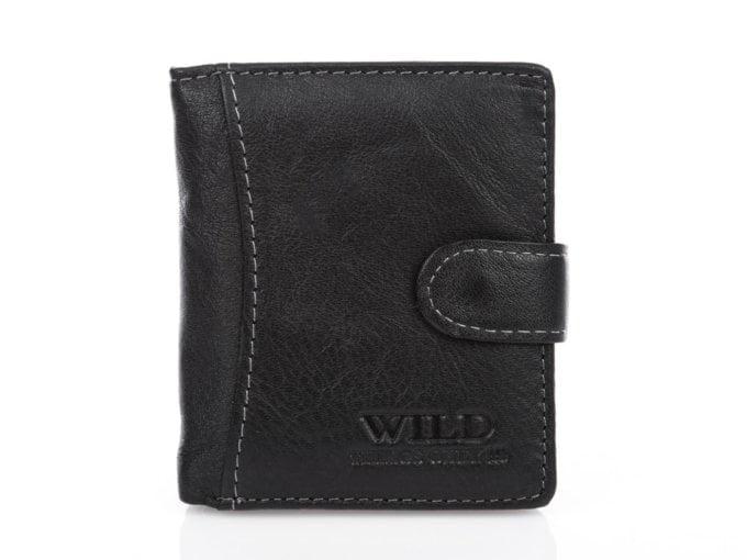 Portfel męski czarny wild 5505