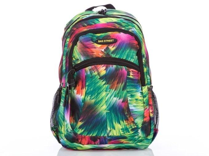 Kolorowy plecak dla dziewczyny