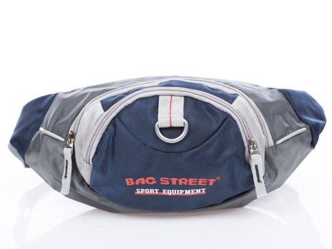 Granatowa saszetka na brzuch bag street sport equipment