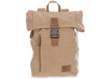 Beżowo brązowy plecak trekkingowy Harold's