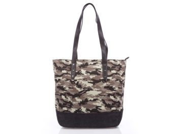 Torba damska shopper moro canvas