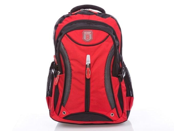Czerwony plecak sportowy