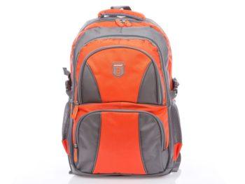 Pomarańczowo szary plecak szkolny Bag Street