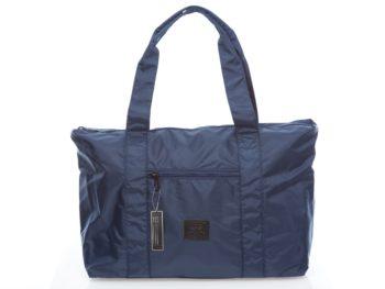 Granatowa, lekka torba podróżna Bag Street