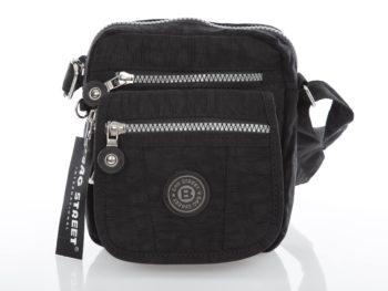 Mała czarna torebka z kreszu