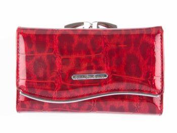 Czerwony cieniowany portfel damski Jennifer Jones 5245