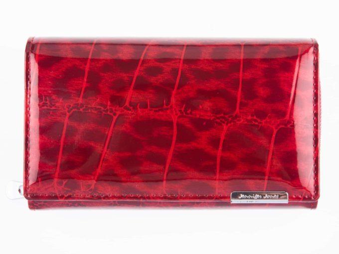 Cieniowany czerwony portfel Jennifer Jones 5261