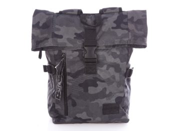 Plecak w kolorze ciemnego, szarego moro campingowy Harold's