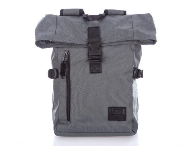 Szary plecak trekkingowy z kominem Harold's