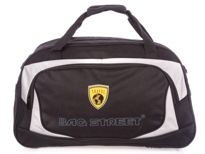 Czarna duża torba sportowa Bag Street