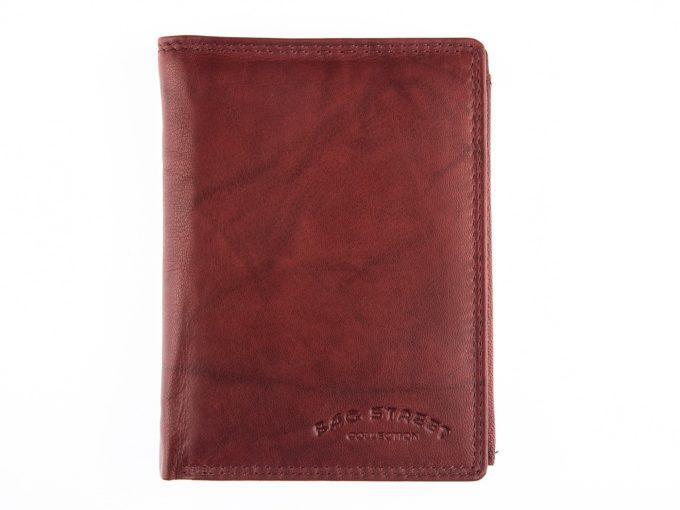 Ciemno brązowy portfel męski Bag Street