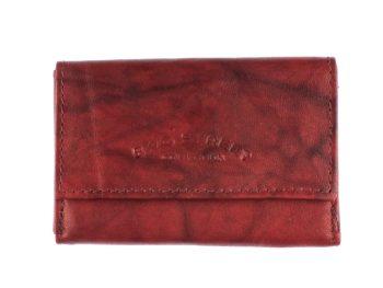 Malutki portfel męski brązowy Bag Street