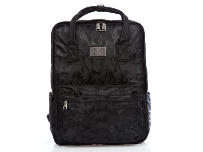 Plecako torba damska czarne moro