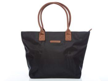 Bardzo duża torba czarna shopper Jennifer Jones