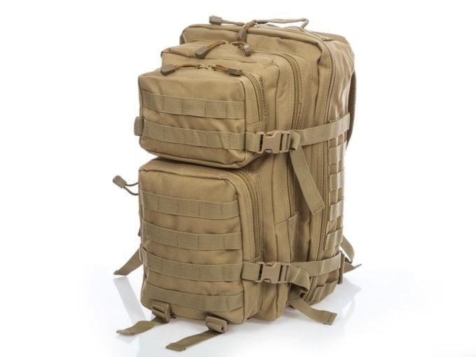 Beżowy plecak taktyczny Bag Street