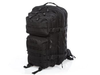 Czarny plecak wojskowy Bag Street