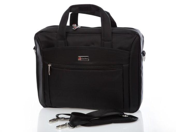 Czarna torba na laptopa Bag Street