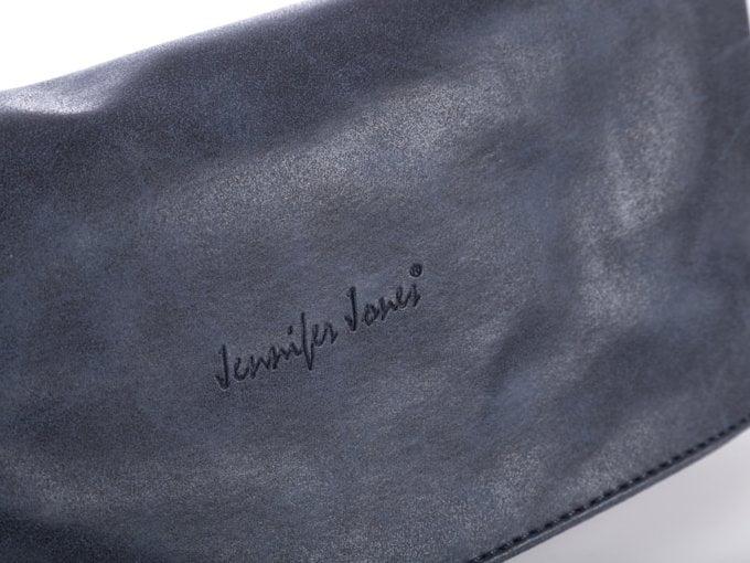 Granatowa torebka damska Jennifer Jones jako kopertówka