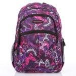 fioletowo rozowy kolorowy plecak