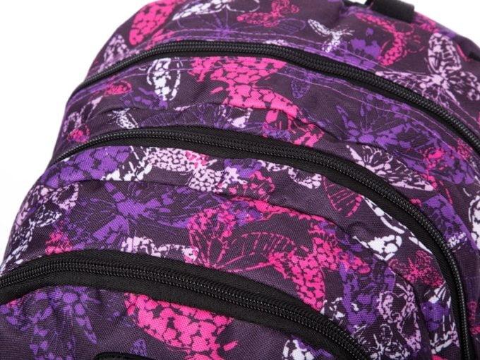 Kieszenie w plecaku