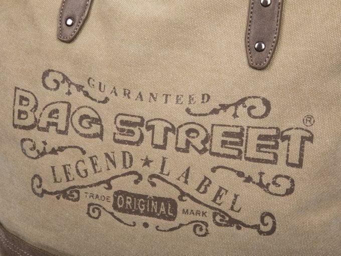 Nadruk na torbie bag street