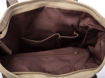Kieszonki wewnatrz torby