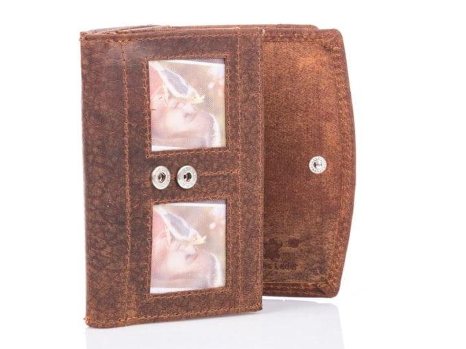 Duży męski portfel vintage