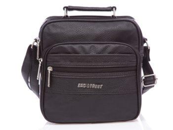 Nieduża czarna torba męska na ramię Bag Street