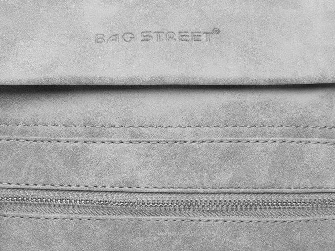 Logo Bag Street na przedniej klapce
