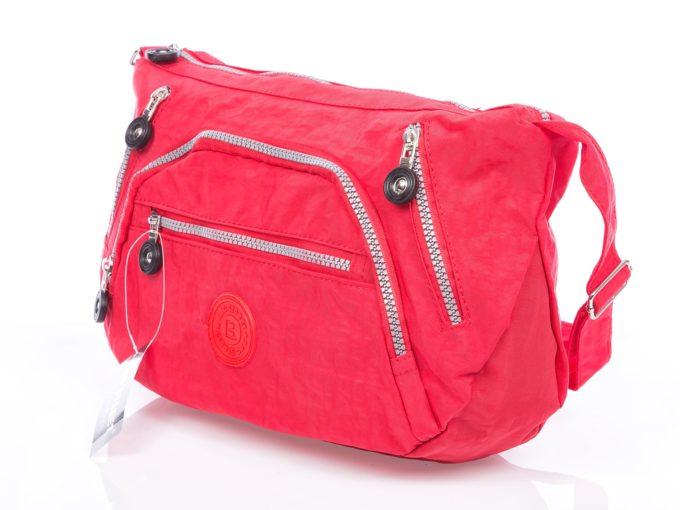 Czerwona torebka damska z kreszu Bag Street