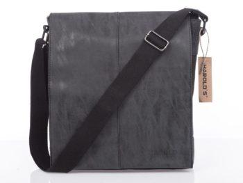 Pojemna torba męska na ramię czarna