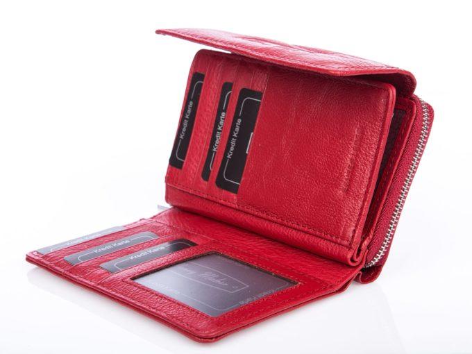 Zdjęcie wnętrza portfela