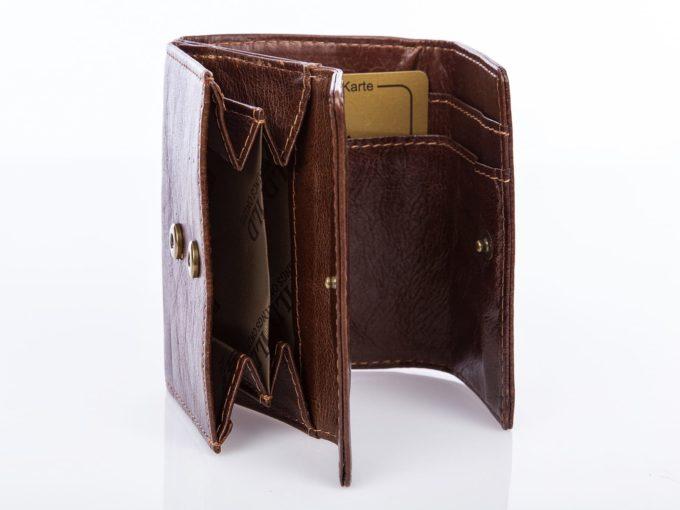 Kieszeń na monety z dwoma kieszonkami