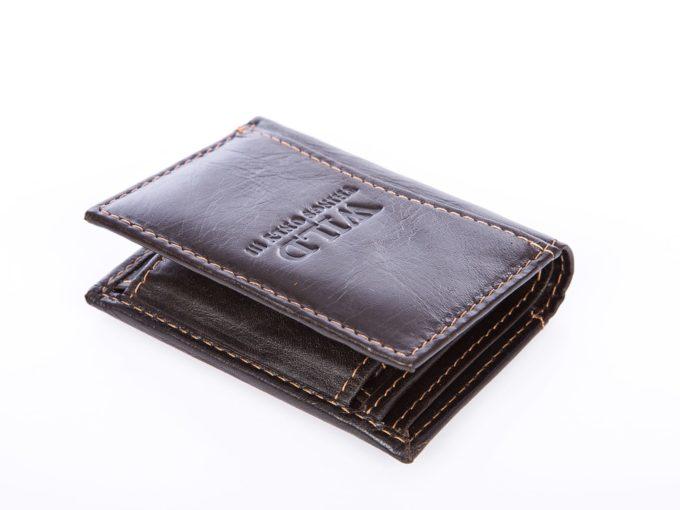 Miniaturowy portfel męski na wyjazdy