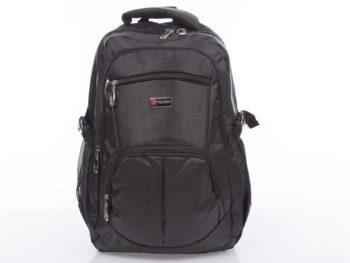 Duży plecak męski w kolorze czarnym sportowy