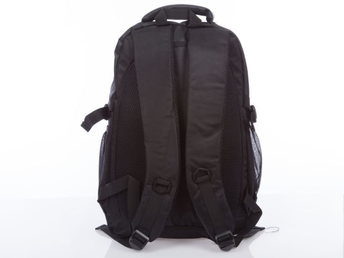 Tył plecaka i paski wyłożone miękką gąbką