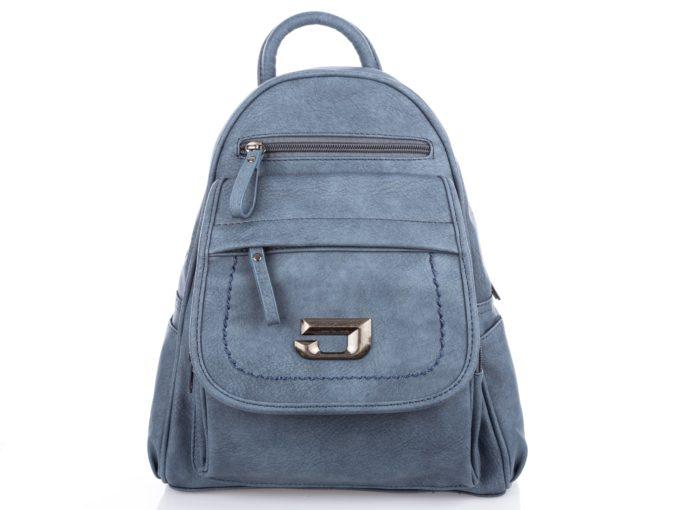 Niebieski plecak damski Jennifer Jones