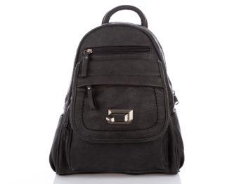 Czarny plecak miejski Jennifer Jones