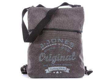 Torebka i plecak w jednym szara damska J jones