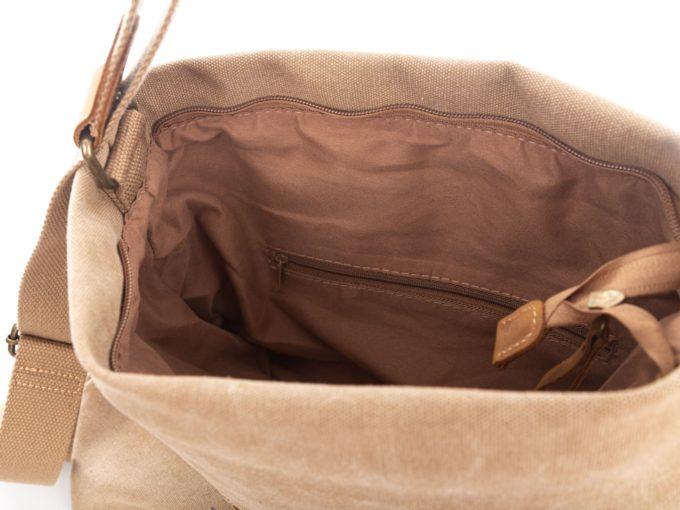 Kieszonka na zamek wewnątrz torby