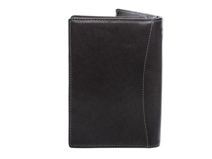 Białe obszycie portfela