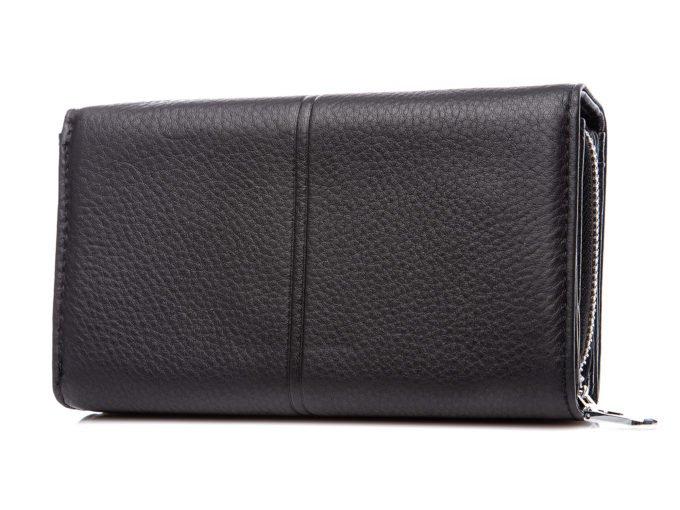 Tłoczenie z tyłu portfela
