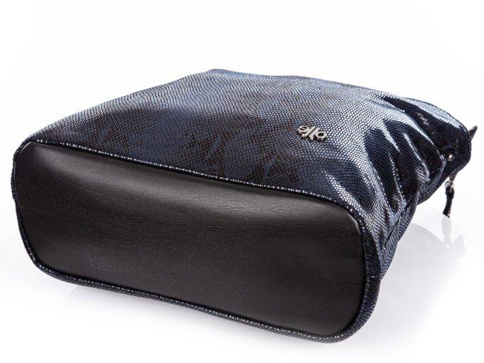 Czarny spód torby